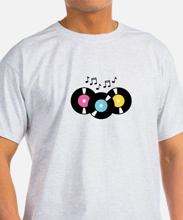 Music Records Notes T-Shirt
