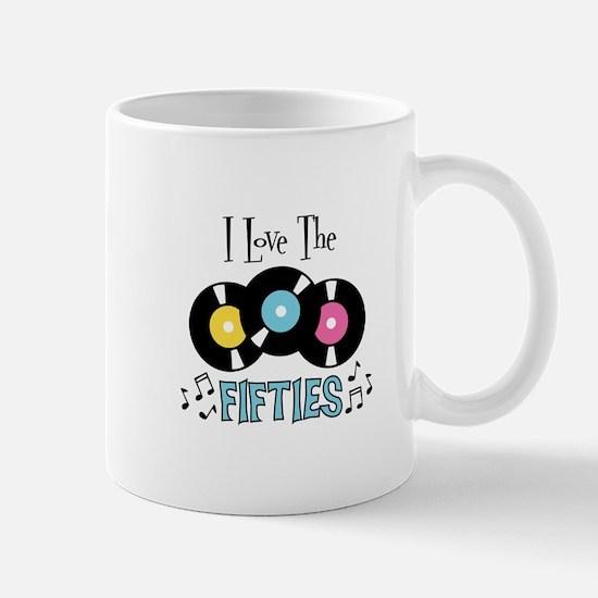 I Love the Fifties Mugs