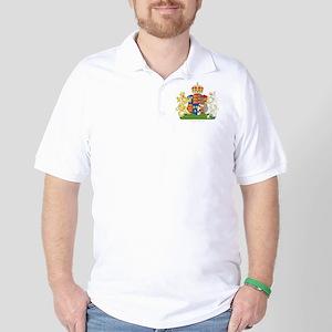 Anne Boleyn Coat of Arms Golf Shirt