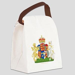 Anne Boleyn Coat of Arms Canvas Lunch Bag