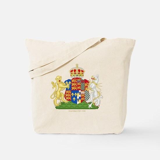 Anne Boleyn Coat of Arms Tote Bag