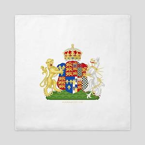 Anne Boleyn Coat of Arms Queen Duvet