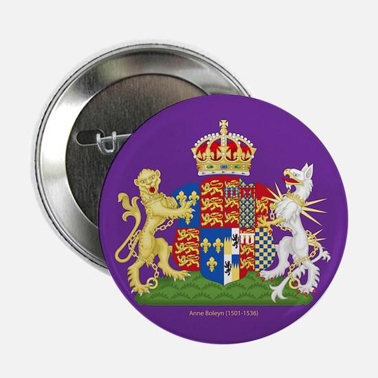 """Anne Boleyn Coat of Arms 2.25"""" Button"""