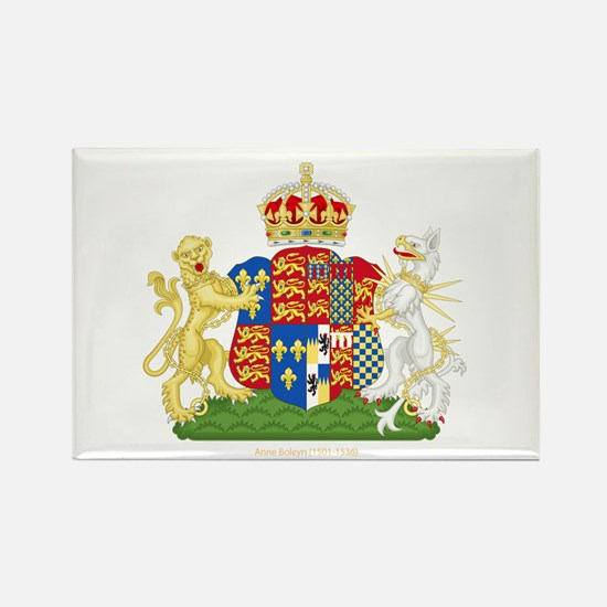 Anne Boleyn Coat of Arms Rectangle Magnet