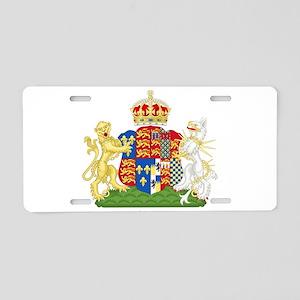 Anne Boleyn Coat of Arms Aluminum License Plate