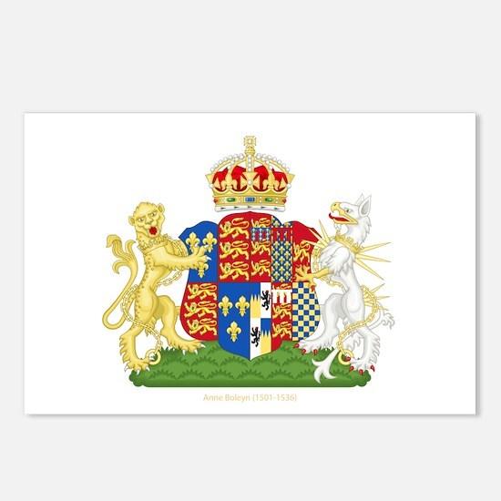 Anne Boleyn Coat of Arms Postcards (Package of 8)