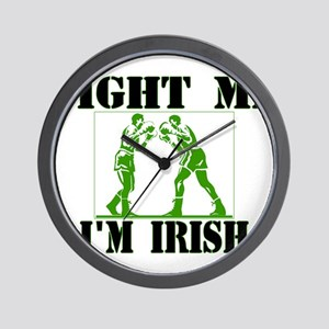 fight me Wall Clock