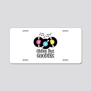 Oldies But Goodies Aluminum License Plate