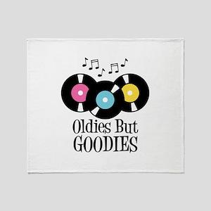 Oldies But Goodies Throw Blanket