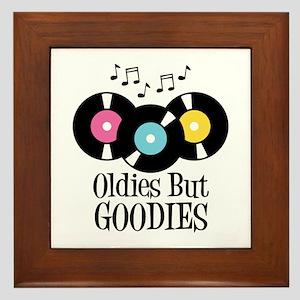 Oldies But Goodies Framed Tile