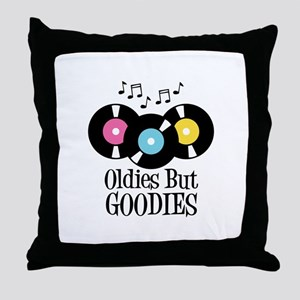 Oldies But Goodies Throw Pillow