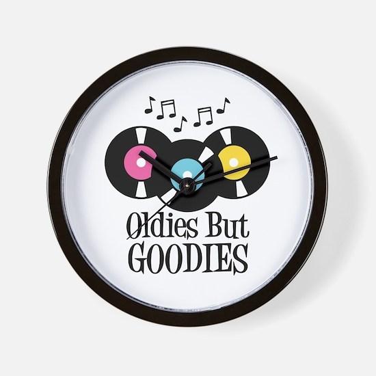 Oldies But Goodies Wall Clock