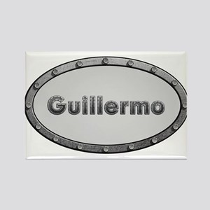 Guillermo Metal Oval Magnets
