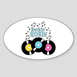 Rockin Robin Sticker