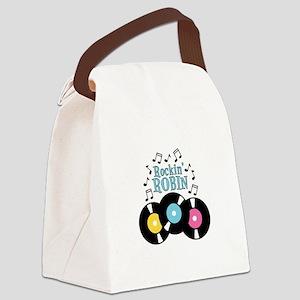 Rockin Robin Canvas Lunch Bag