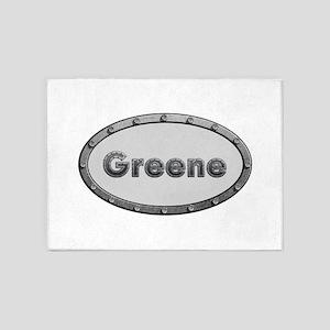 Greene Metal Oval 5'x7'Area Rug
