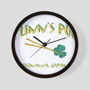 flinn okinawa 1 Wall Clock