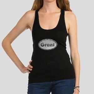 Grant Metal Oval Racerback Tank Top