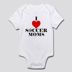 I Love Soccer Moms Infant Bodysuit