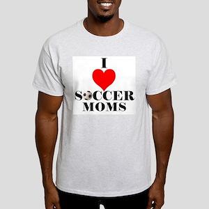 I Love Soccer Moms Light T-Shirt