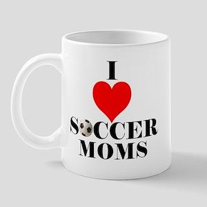 I Love Soccer Moms Mug