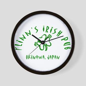 flinn okinawa 2 Wall Clock