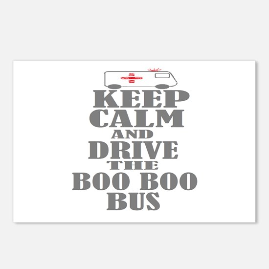 Boo Boo Bus Postcards (Package of 8)