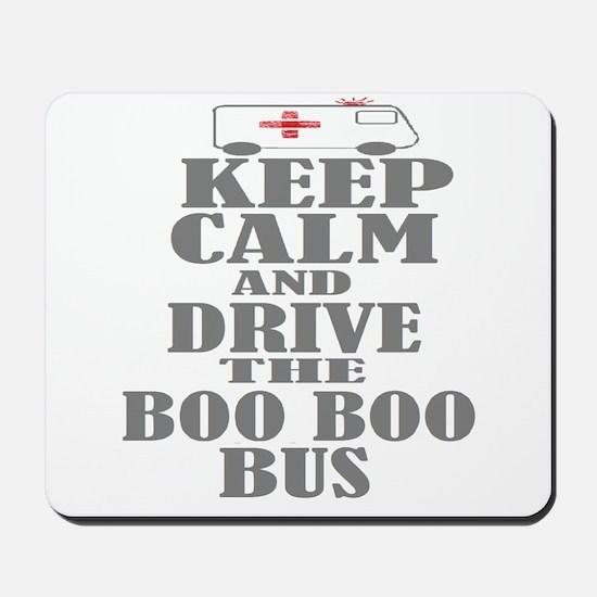 Boo Boo Bus Mousepad