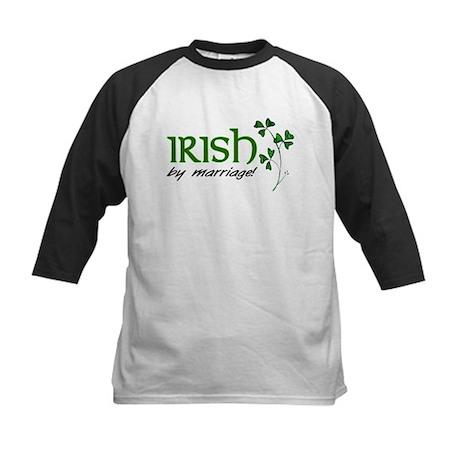 irish marriage Kids Baseball Jersey