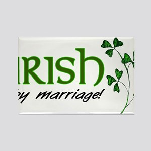 irish marriage Rectangle Magnet