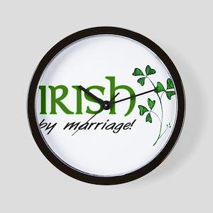 irish marriage Wall Clock