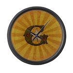 Masonic Letter G Large Wall Clock