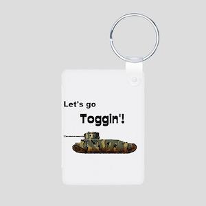 Tog Aluminum Photo Keychain