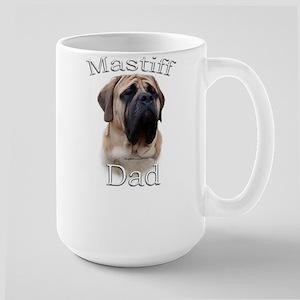 Mastiff(fawn)Dad2 Large Mug