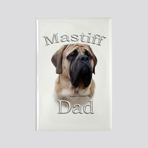 Mastiff(fawn)Dad2 Rectangle Magnet