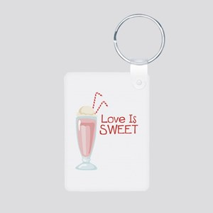 Love is Sweet Keychains