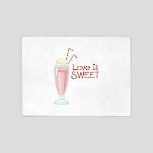Love is Sweet 5'x7'Area Rug