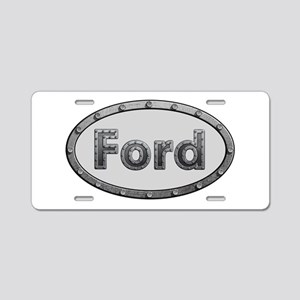 Ford Metal Oval Aluminum License Plate