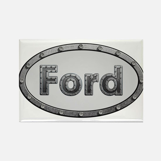 Ford Metal Oval Magnets