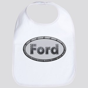 Ford Metal Oval Bib