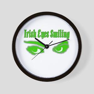 Irish Eyes Wall Clock