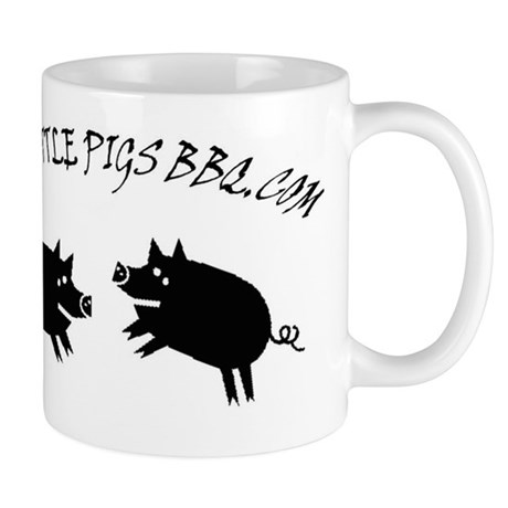 Two Little Pigs Back Copy Mug