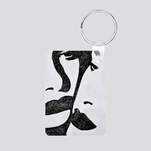 Shadow Lovers Aluminum Photo Keychain