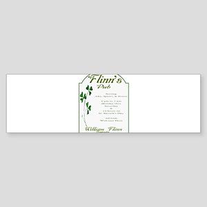 flinn's Bumper Sticker