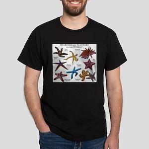 Starfish & Seastars of the World Dark T-Shirt
