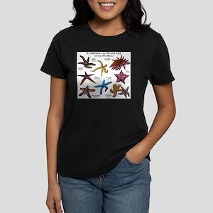 Starfish & Seastars of the Wo Women's Dark T-Shirt