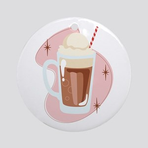 Root Beer Float Ornament (Round)