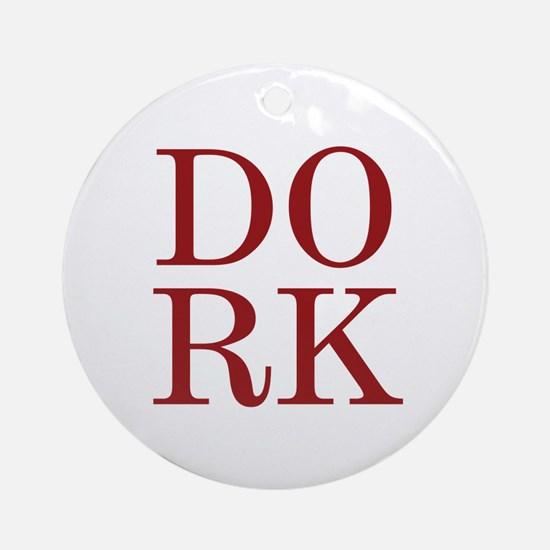 DORK Ornament (Round)