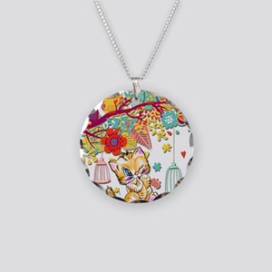 A Kitty World Away Necklace