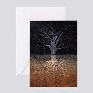 Heaven & Earth Card Greeting Cards